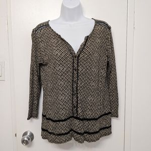 Lucky Brand button up top size xs